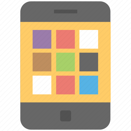 apps menu, mobile interface, mobile menu, mobile phone, mobile ui icon