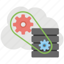 cloud application service, cloud preferences, cloud service configure, cloud settings, cloud sync settings icon