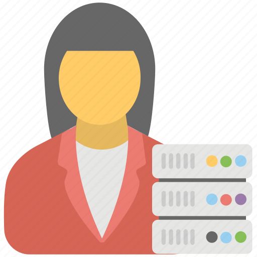 data controller, data management, data manager, management concept, sql management icon