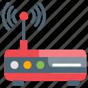 internet, modem, wireless icon