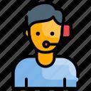 headphone, headset, online, support
