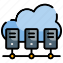center, cloud, data, server