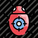 bug, error, fixing, repair icon