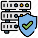 database, network, protection, server, technology