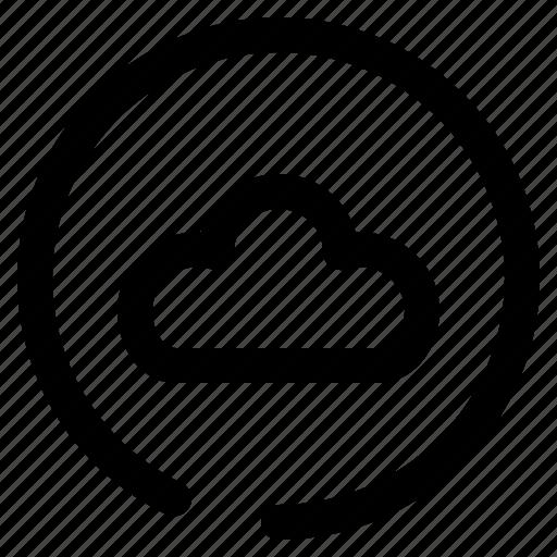 Cloud, storage, data, server, database icon - Download on Iconfinder