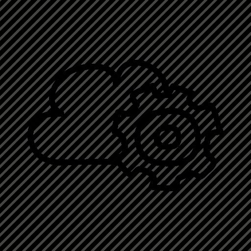 cloud, computer, data, hosting, internet, web icon