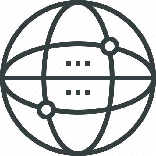 business, communication, connection, global, internet, network, nodes, web icon