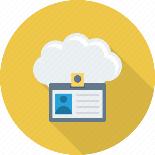 Card, cloud, id, identification, identity, profile icon - Download on Iconfinder