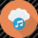 media, music icon