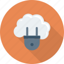 cloud, computing, hosting, networking, plugin icon