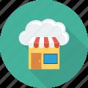 shop, computing, shopping, cloud, online