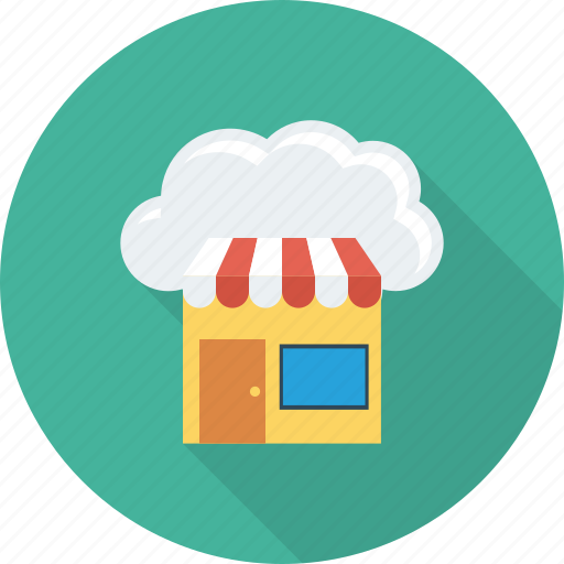 Cloud, computing, online, shop, shopping icon - Download on Iconfinder