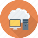 cloud, computer, storage icon