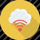 cloud, internet, technology, wifi icon