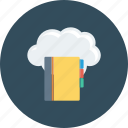 address, book, cloud, computing, icloud, phone icon