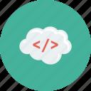 cloud, code, html, markup