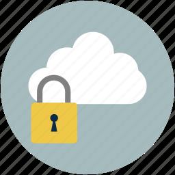 online computing safe, online lock, online locked, online locker, online safety, online security icon