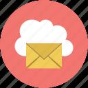 email, online, online email, online inbox, online letter icon