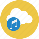 media, media storage, music, music storage, songs, songs storage icon
