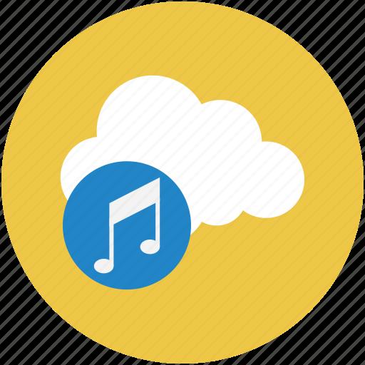 media, media storage, music, music storage, songs, songs storage icon