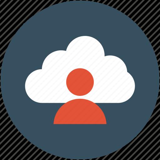 online, online avatar, online traffic, online user, thinking icon