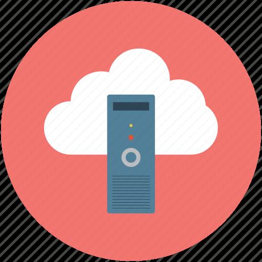 online data, online database, online network, online safe, online server, online storage icon
