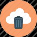 online abort, online delete, online dustbin, online remove, online trash icon
