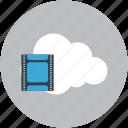 cloud, icloud, multimedia, online video