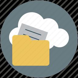 folder, online, online computing, sharing icon