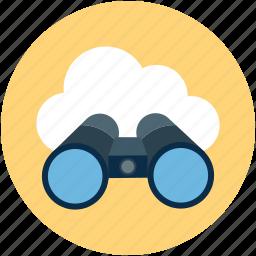 online navigation, online spy-glass, online telescope, online wsd icon