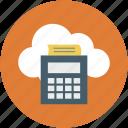 online calculator, online receipt printer, online calculation, online calculator printer, online receipt icon