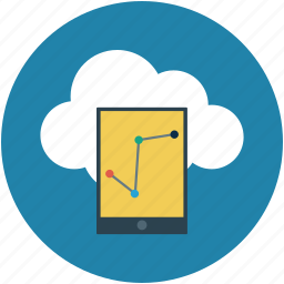 mobile pie chart, mobile report, mobile reporting, online graphs, pie chart, report icon