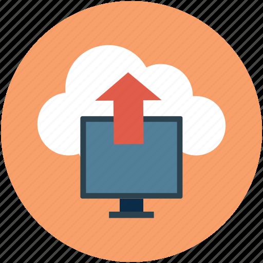 cloud, data, online data transfer, online transfer, put, send, storage, upload icon
