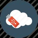 online data, online data storage, online sharing data, online stick, online usb icon