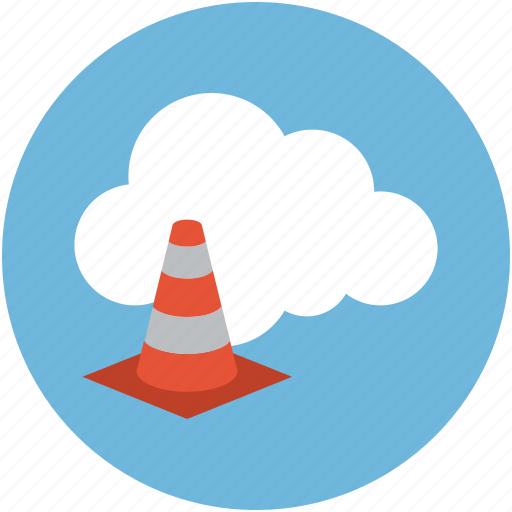 online building, online cone, online construction, online under maintenance icon