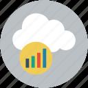 online business analytics, online chart, online financial graph, online graph icon
