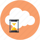 hourglass, interval, loading, process, time, timer, wait icon