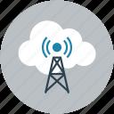 online wireless, signal, online antena, online tower, online icon