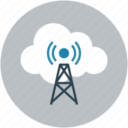 online, online antena, online tower, online wireless, signal icon
