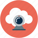 camera, movie, online computing cam, photo, video, web, webcam icon