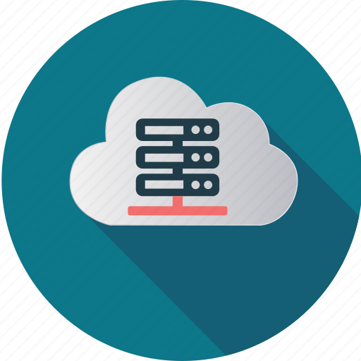center, cloud, computer, computing, data, hosting, information icon