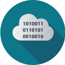 cloud, computer, computing, data, degital, information, internet icon