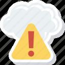 error, storage, warning
