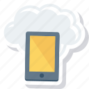cloud, drive, mobile icon