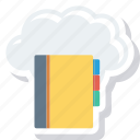 address, book, cloud, computing, icloud, phone, telephone icon