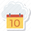 cloud, computing, online, storage icon