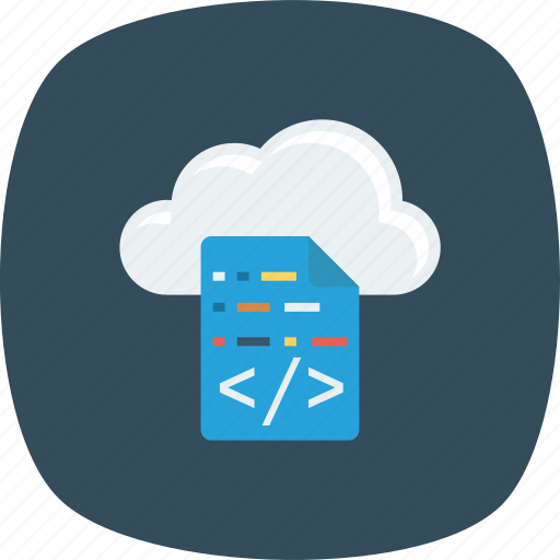 Cloud, coding, computing icon - Download on Iconfinder