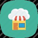 cloud, computing, online, shop, shopping