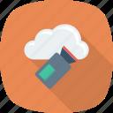 camera, cloud, film, movie, recorder icon