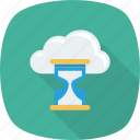 hourglass, loading, refresh icon